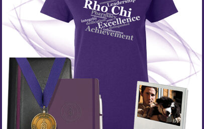 NEW Rho Chi Merchandise!