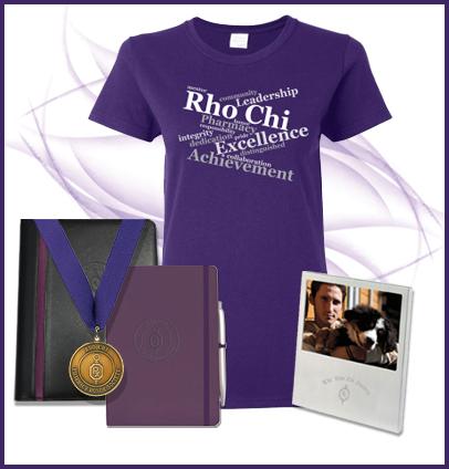 NEW Rho Chi Merchandise!