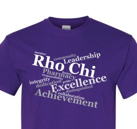 NEW Rho Chi Proud T-shirt