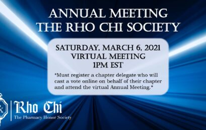 Annual Meeting goes Virtual on March 6, 2021